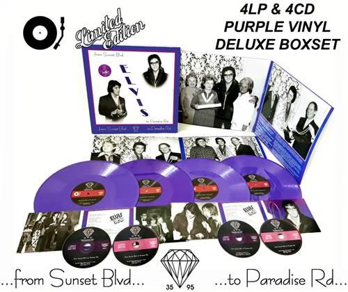Elvis vinyl from ep boulevard purple 2019 08 17