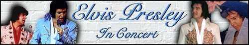 elvis in concerts